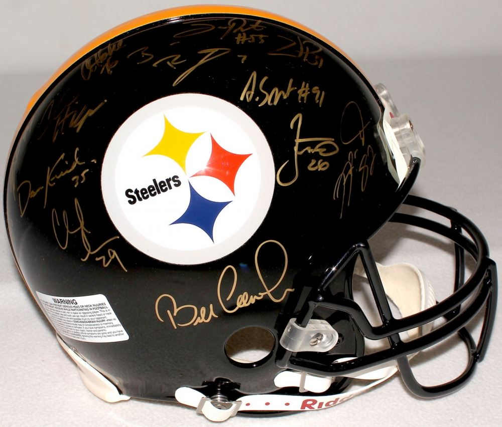 80b4cfc3f3a Image 1   Super Bowl 40   43 Champion Team-Signed Steelers Full-Size ...
