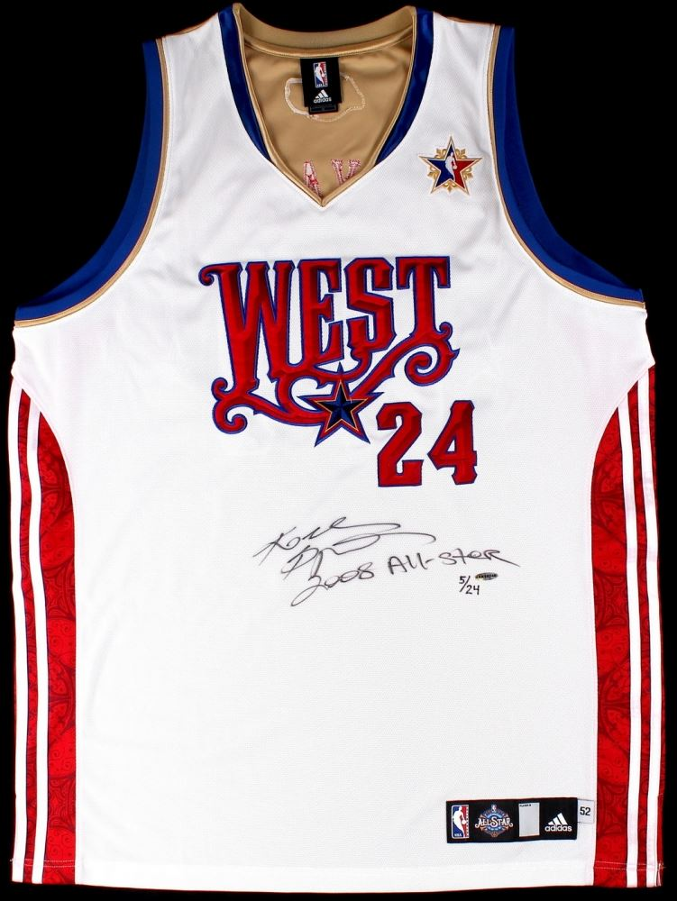 new style 36d62 24397 Kobe Bryant Signed LE 2008 Western Conference All-Star ...