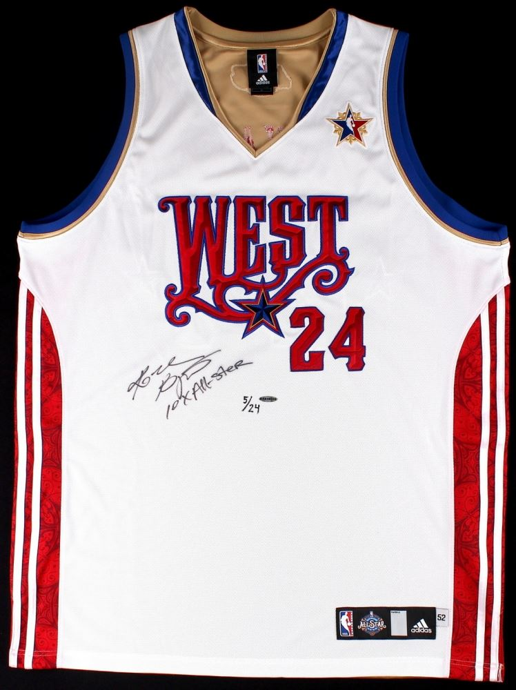 54bc8efafb6 Image 1   Kobe Bryant Signed LE 2008 Western Conference All-Star Authentic  Adidas On ...