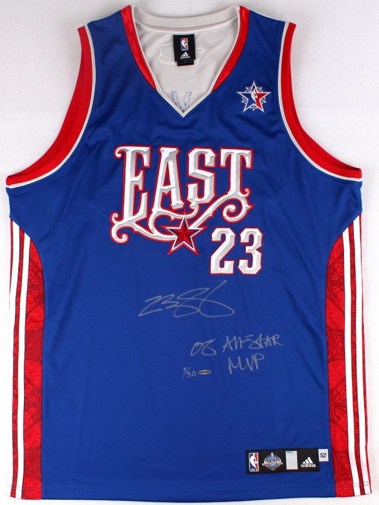 ad9c10fcc858 Image 1   LeBron James Signed LE 2008 Eastern Conference All-Star Authentic  Adidas On ...