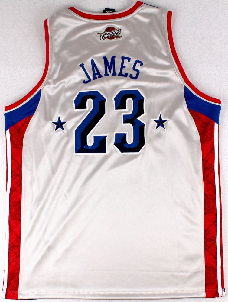 free shipping ada0a 273d6 LeBron James Signed LE 2008 Eastern Conference All-Star ...