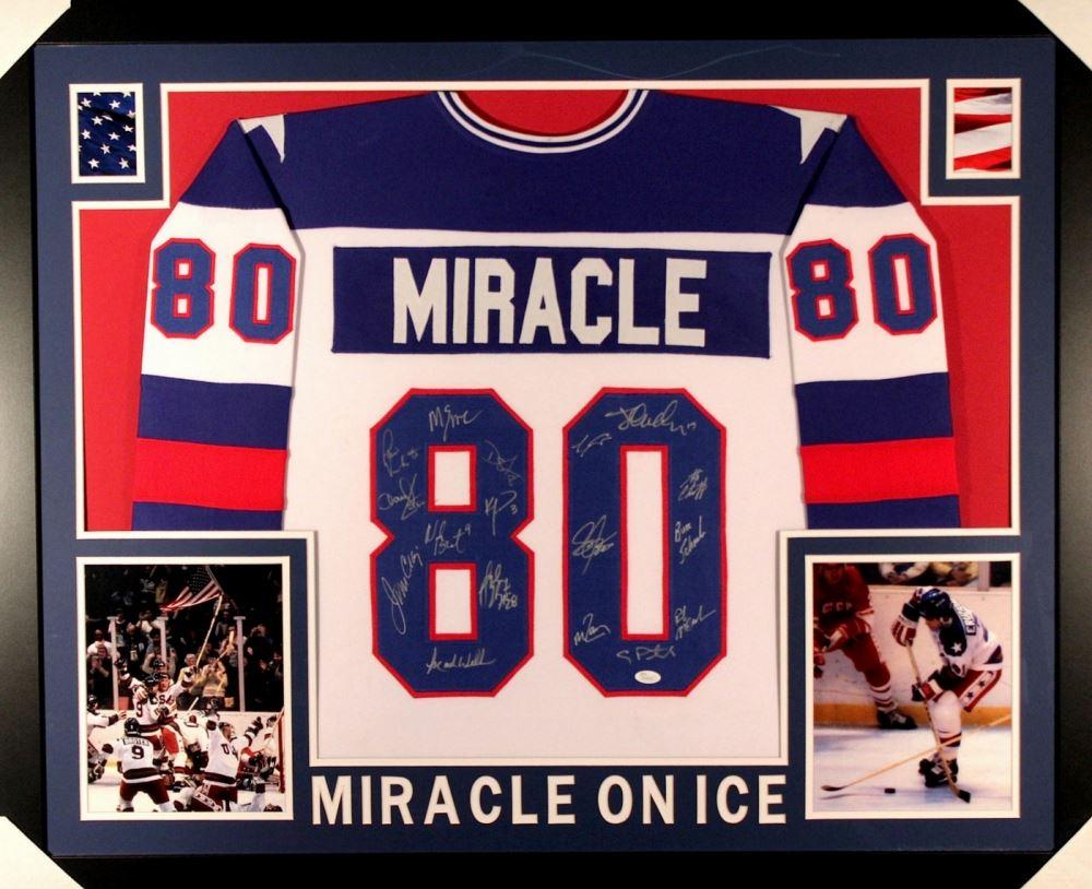 Image 1   1980 Team USA Hockey Signed
