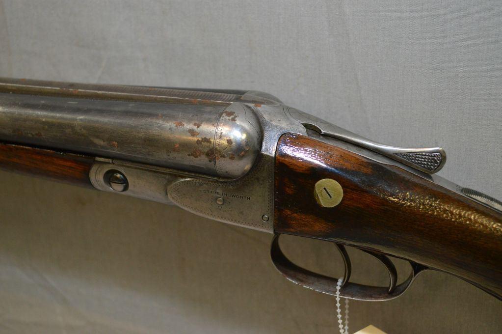 A H  Fox Gun Co  Model Sterling Worth  12 Ga Side By SIde