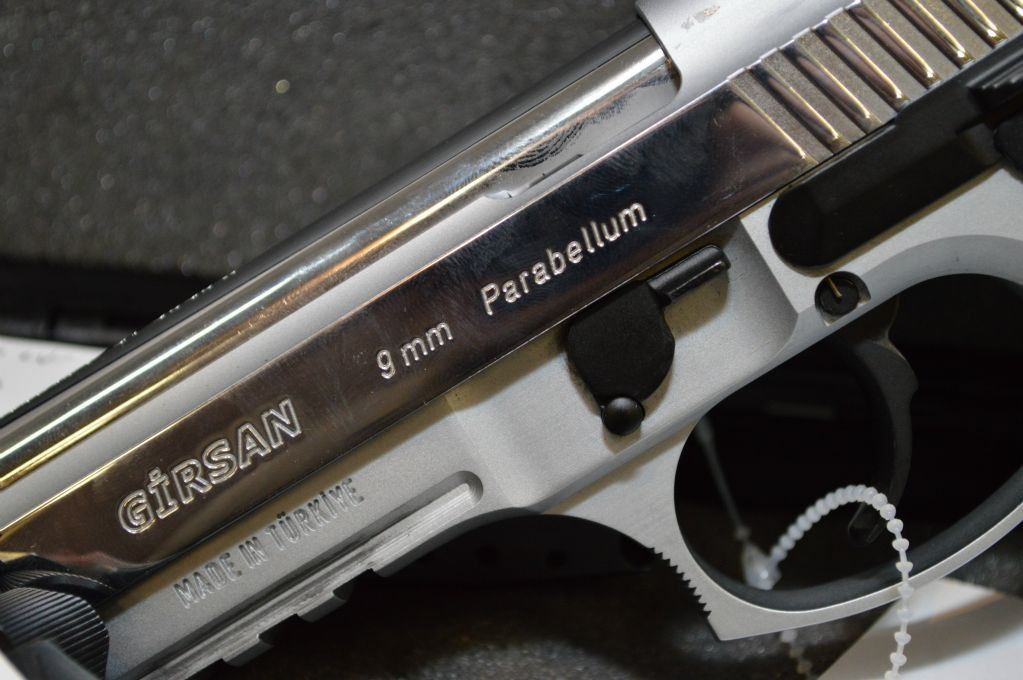 Girsan Model YAVUZ 16 REGARD MC  9 MM Para cal 10 Shot Semi Auto