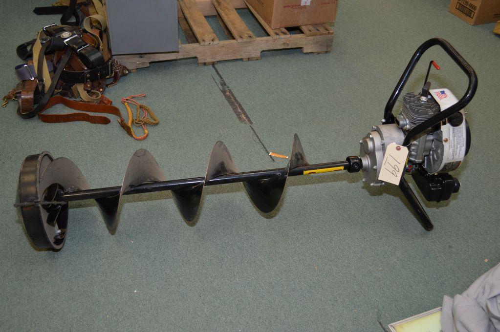 Jiffy Field Man Tecumseh 3 0 Horse Power Gas Powered Ice Auger w