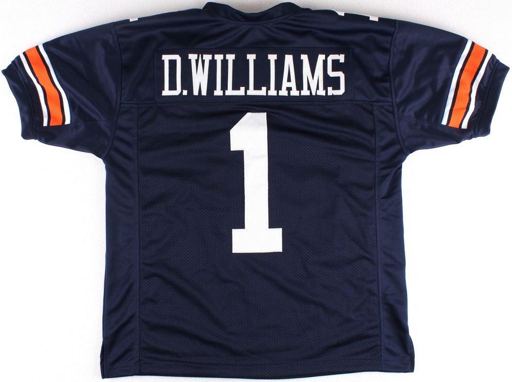 factory price 3fce4 5f0f9 Duke Williams University of Auburn On-Field Style Custom ...
