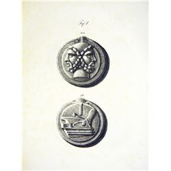 Barth's 1838 Work on the Aes Coinage, with Exceptional Plates
