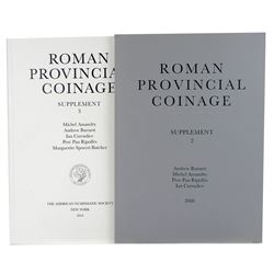 Roman Provincial Coinage, with Printed Versions of Supplements 2 & 3