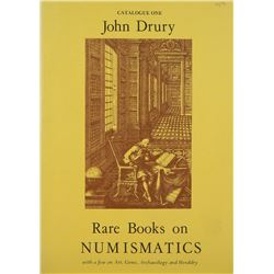 The John Drury Numismatic Book Catalogues