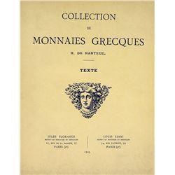 The H. de Nanteuil Greek Coins