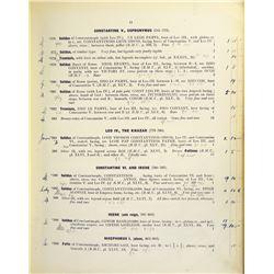 Bert Seaby's Annotated Bid Books