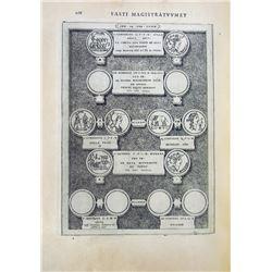 The 1566 Fastos Magistratum & Triumphorum