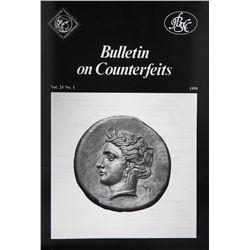 Bulletin on Counterfeits