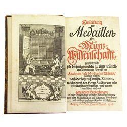Rare 1718 Leipzig Edition of Jobert