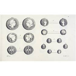 Attractive Set on the Aes Grave of the Kircher Collection