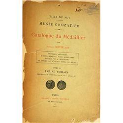 Montélhet's Rare Catalogue of the Musée Crozatier's Roman Coins