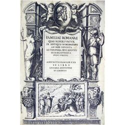 Orsini's Handsome 1577 Familiae Romanae