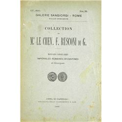 The Rare Sangiorgi Catalogue of the Rusconi Collection