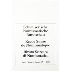 Schweizerische Numismatische Rundschau & Münzblätter