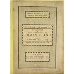 1902 Bizot and 1908 O'Hagan Roman Sales, Priced & Named