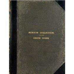 Priced & Named 1909 Benson Sale
