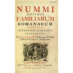 Vaillant's 1703 Nummi Antiqui Familiarum Romanarum