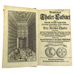 Lilienthal's 1735 Thaler-Cabinet