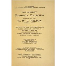 The First Three W.W.C. Wilson Sales, with Reprint Plates