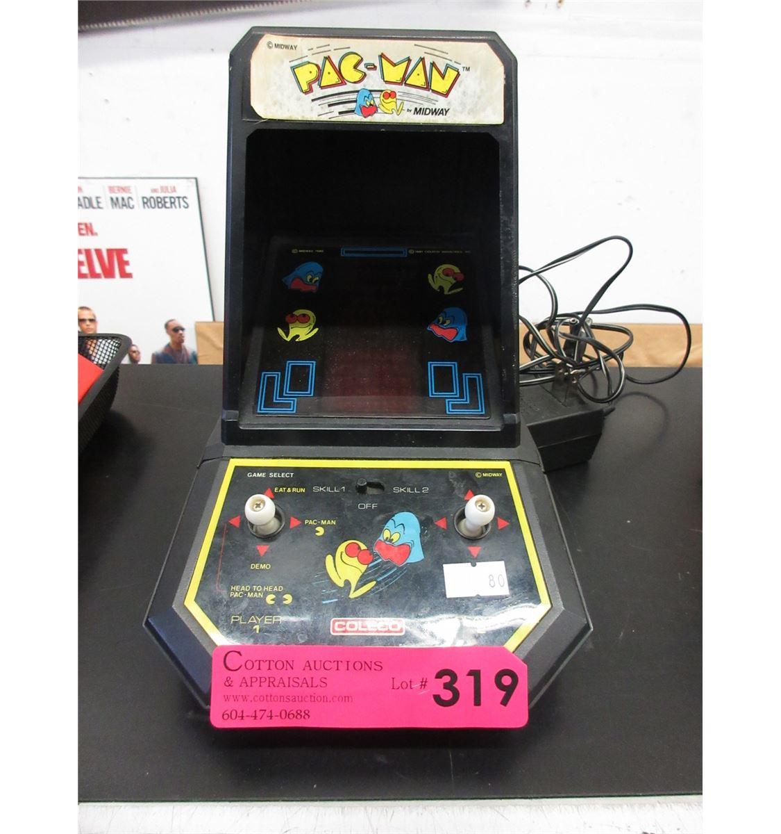 Tremendous Vintage Coleco Pacman Tabletop Game Download Free Architecture Designs Itiscsunscenecom
