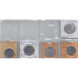Ontario Trade Tokens - Lot of 5 Brantford trade tokens