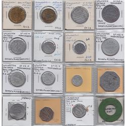 Ontario Trade Tokens, Bruce County - Lot of 16 Walkerton, Ont. trade tokens