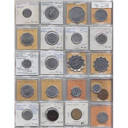 Ontario Trade Tokens - Lot of 21 Essex County trade tokens