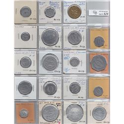 Ontario Trade Tokens - Lot of 19 Huron County trade tokens