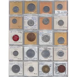 Ontario Trade Tokens - Lot of 20 Huron County trade tokens