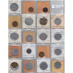 Ontario Trade Tokens - Lot of 19 Kenora District And Rainy River District Trade tokens