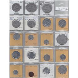 Ontario Trade Tokens, Lambton County - Lot of 27 Arkona trade tokens