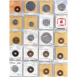Ontario Trade Tokens  - Lot of 20 Nippissing District And Timiskaming Dist trade tokens
