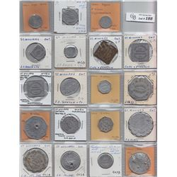Ontario Trade Tokens - Lot of 19 Norfolk County trade tokens