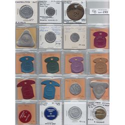 Ontario Trade Tokens - Lot of 19 Northumberland County tokens