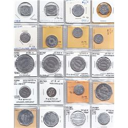Ontario Trade Tokens - Lot of 37 Oxford County trade tokens