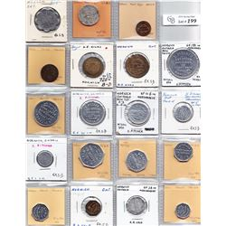 Ontario Trade Tokens - Lot of 27 Oxford County trade tokens