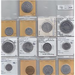 Ontario Trade Tokens - Lot of 13 Waterloo trade tokens