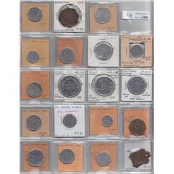 Ontario Trade Tokens - Lot of 25 Wellington County trade tokens