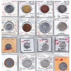 Ontario Trade Tokens - Lot of 16 Hamilton trade tokens