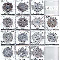 Ontario Medallions - Lot of 14 typer souvenir medallions