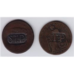 Nova Scotia Communion Tokens - Lot of 2