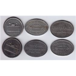 Communion Stock Tokens - Lot of 6