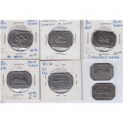 Communion Stock Tokens - Lot of 7