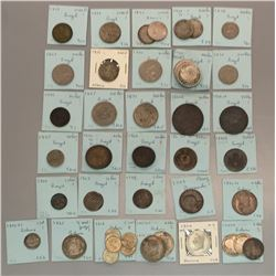 World Coins - Bermuda, Bolivia, Brazil - Lot of 51 Coins