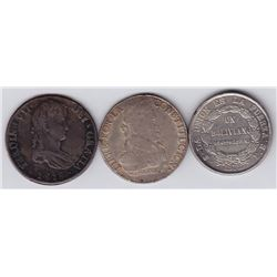 World Coins - Bolivia - Lot of 3